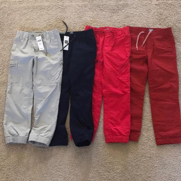 3ee73023f GAP Bottoms | Nwt Baby Boys Jogger Pants Lot Size 5t | Poshmark